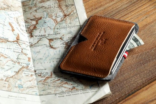 picture of mens wallet next a map, a gentlemans row fashion blog