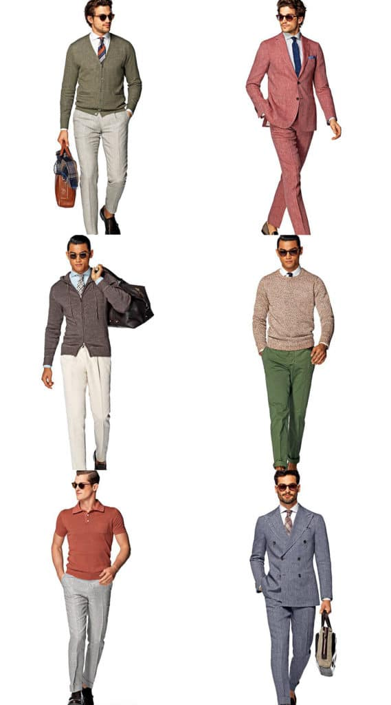 suit supply linen collection