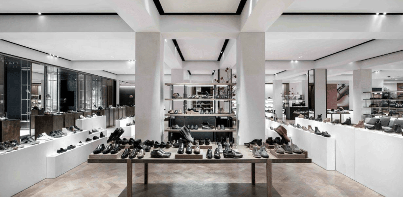 selfridges mens shoe department