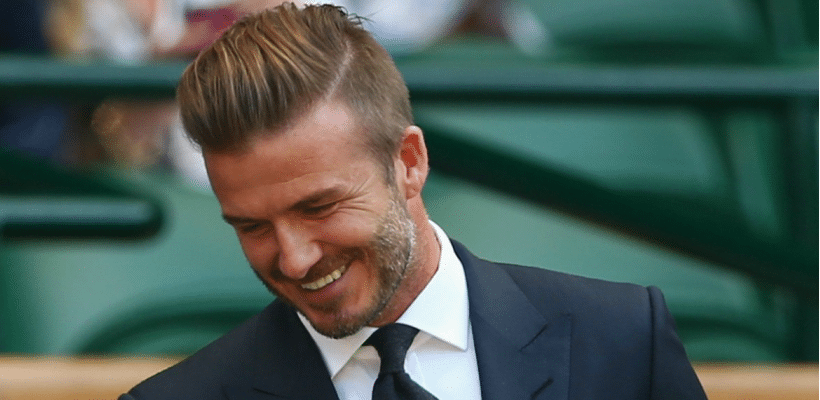 david beckham haircut