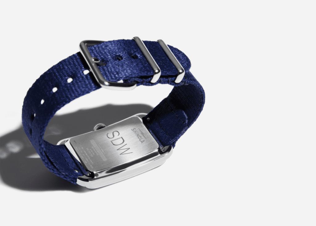 engrave shinola watch