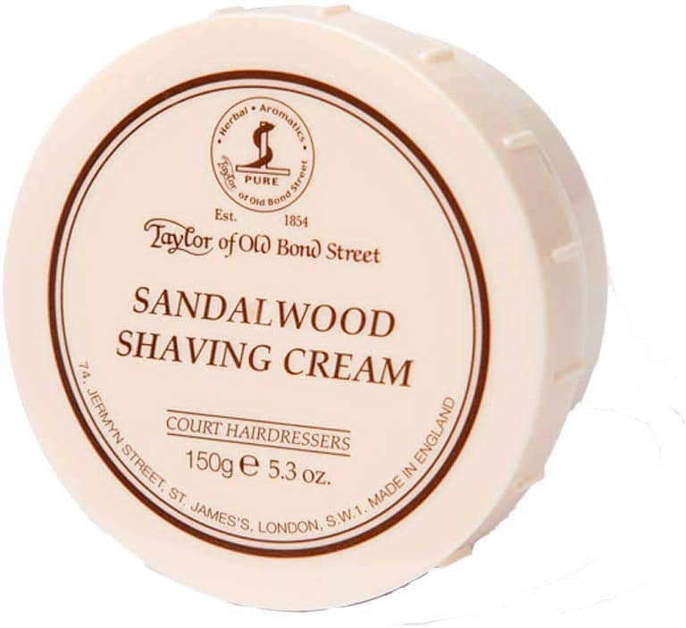 taylors of bond street shaving cream