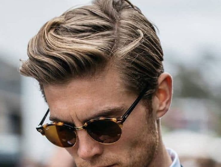 medium hair length men