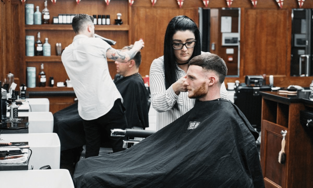 inside pall mall barbers