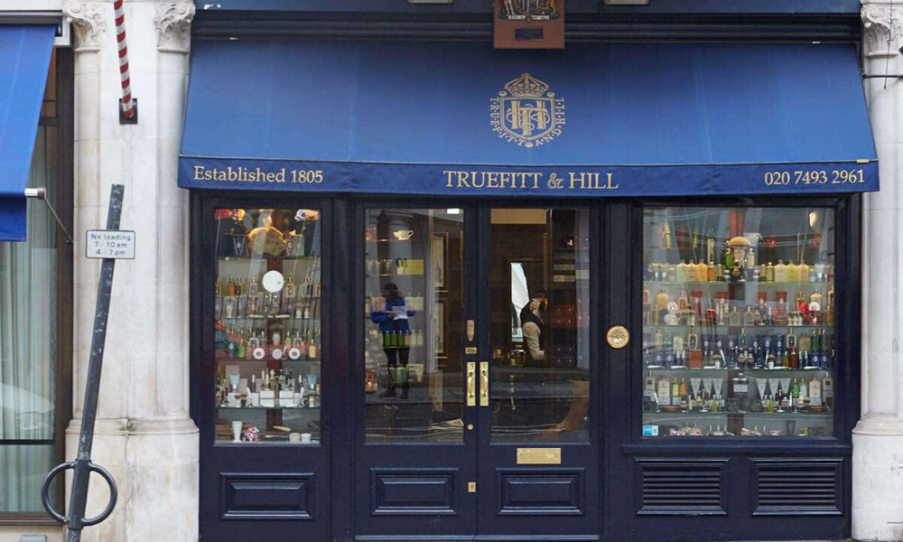 truefitt & hill barbers shop