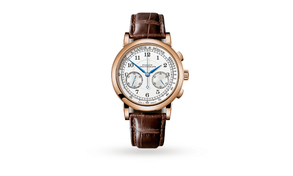 a lange 1815 chronograph watch