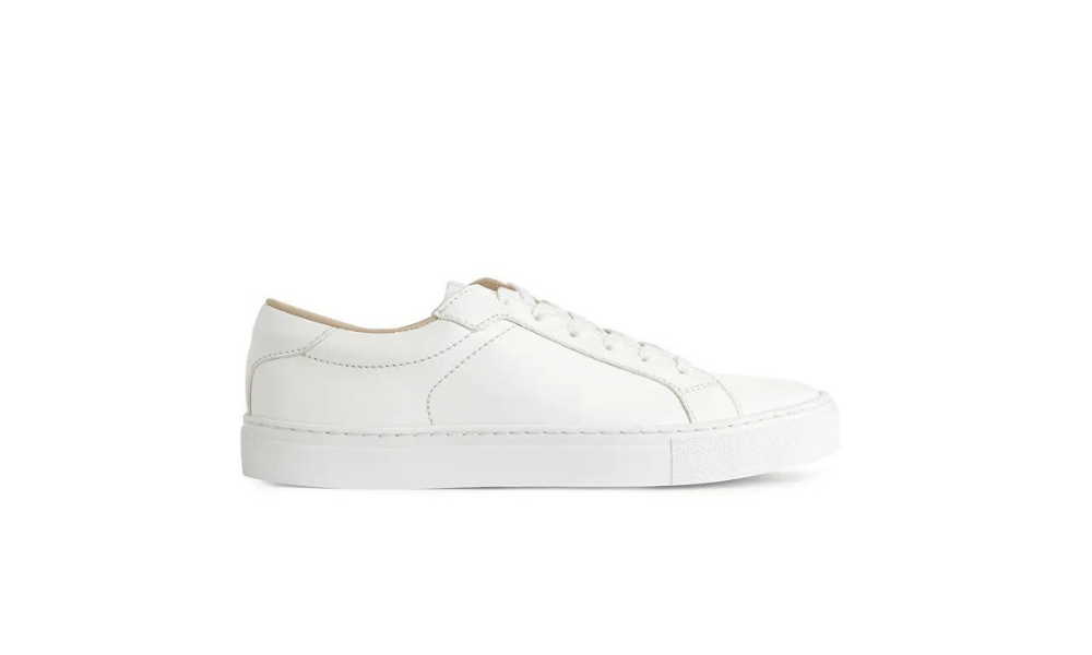 Arket white trainers