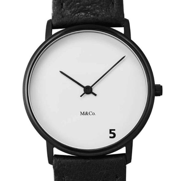 m&co 5 o clock watch