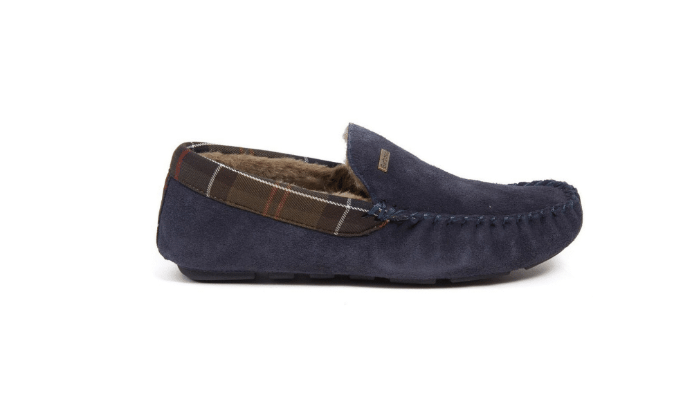 barbour slippers for men