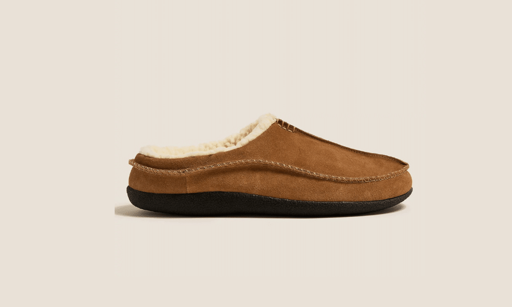 marks and spencer mens slippers