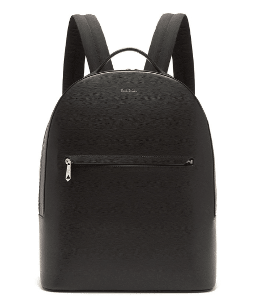stylish black backpack for men