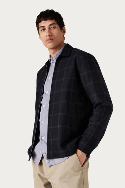 wax london bomber jacket for men