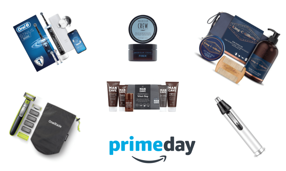 grooming deals from amazon prime day